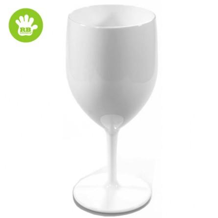 Okrossbart vinglas vit 25 cl