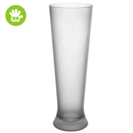Okrossbart Ölglas frosted 25 cl