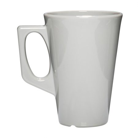 Okrossbart kaffekopp grå 34 cl